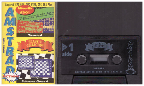 Amstrad Action 25 Apr 93 Covertape for Amstrad CPC