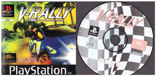 V-Rally 97 Championship Edition for Sony Playstation 1/PS1 from Infogrames