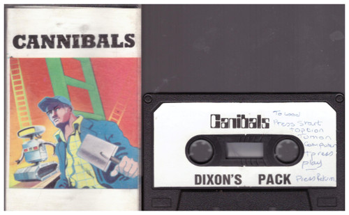 Cannibals for Atari 8-Bit Computers from Calisto