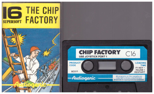 The Chip Factory for Commodore 16/Plus 4 from Supersoft