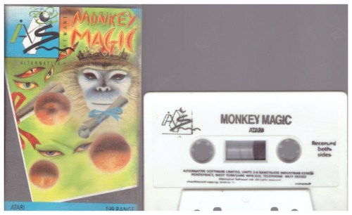 Monkey Magic for Atari 8-Bit Computers from Alternative Software (AS064)