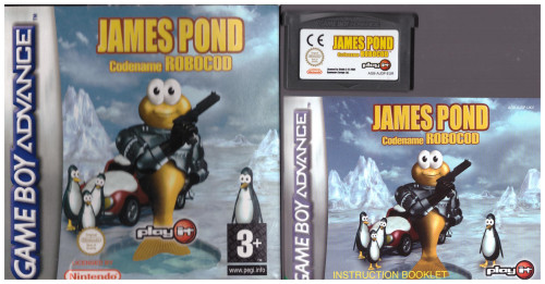 James Pond: Codename Robocod for Nintendo Gameboy Advance from Play It (AGB P AJDP)