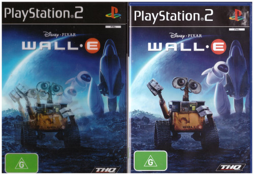 Wall E for Sony Playstation 2/PS2 from THQ (SLES 55184)
