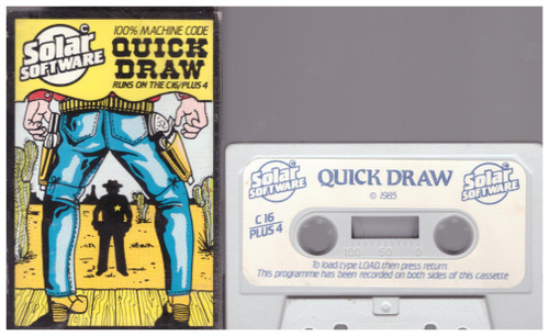 Quick Draw for Commodore 16/Plus 4 from Solar Software