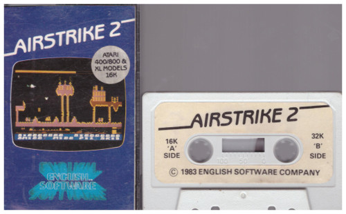 Airstrike 2 for Atari 8-Bit Computers from English Software