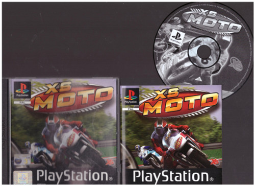 XS Moto for Sony Playstation 1/PS1 from XS Games (SLES 04095)