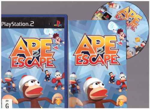 Ape Escape 2 for Sony Playstation 2/PS2 from Sony (SCES 50885)