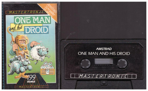 One Man And His Droid for Amstrad CPC from Mastertronic (IA 0089)