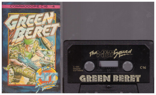 Green Beret for Commodore 16/Plus 4 from The Hit Squad
