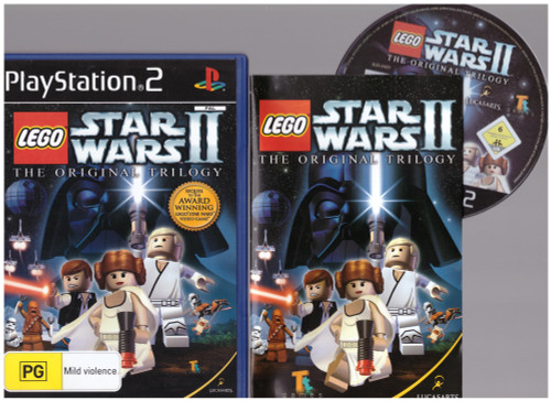 LEGO Star Wars II: The Original Trilogy for Sony Playstation 2/PS2 from Lucasarts (SLES 54221)