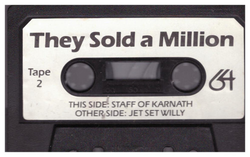 They Sold A Million Tape 2  for Commodore 64 from The Hit Squad