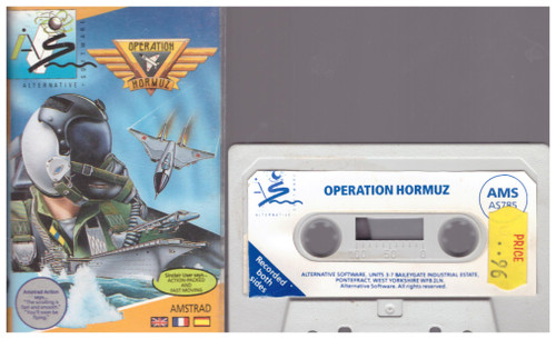 Operation Hormuz for Amstrad CPC from Alternative Software (AS 785)