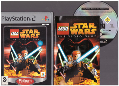 LEGO Star Wars: The Video Game for Sony Playstation 2/PS2 from Lucasarts (SLES 53194)