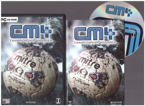 CM4: Championship Manager 4 for PC from Eidos