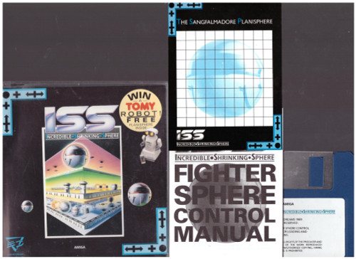 ISS: Incredible Shrinking Sphere for Commodore Amiga from Electric Dreams (WD 628)