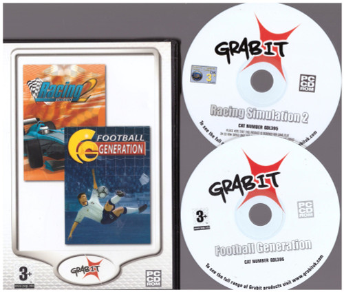 Racing Simulation 2/Football Generation for PC from Grab-It (GDL812)