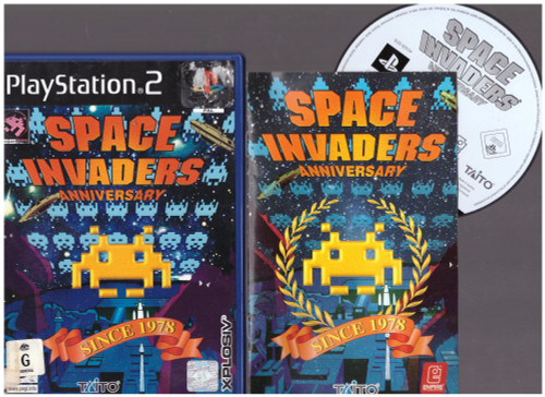 Space Invaders Anniversary for Sony Playstation 2/PS2 from Xplosiv (SLES 52313)