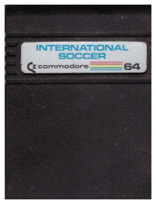International Soccer for Commodore 64 from Commodore
