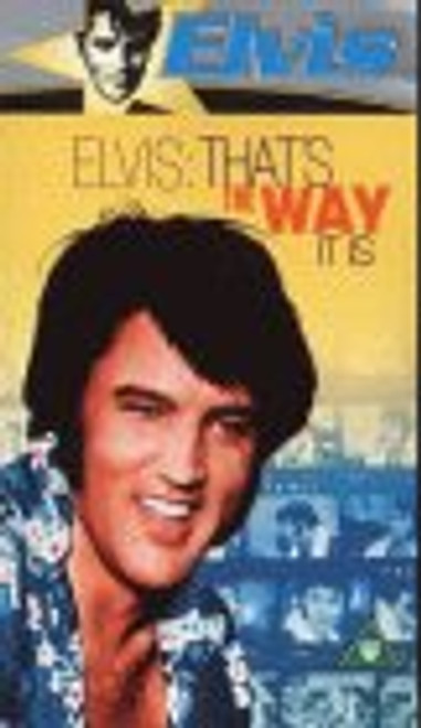 Elvis: That's The Way It Is on VHS from Warner Home Video
