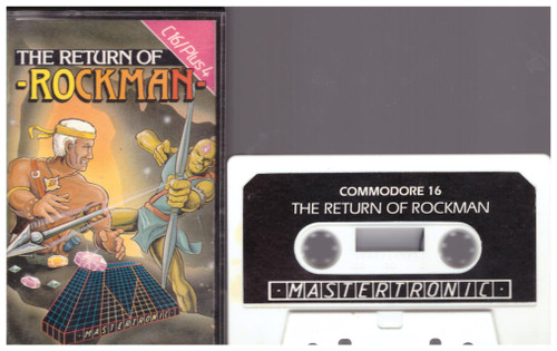 The Return Of Rockman for Commodore 16/Plus 4 from Mastertronic (2C 0111)