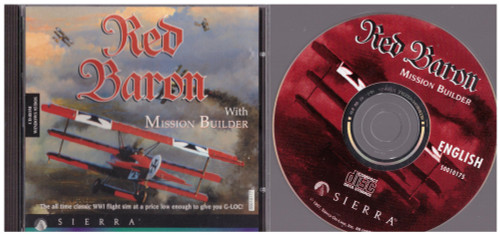 Red Baron With Mission Builder for PC from Sierra