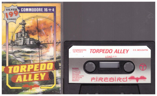 Torpedo Alley for Commodore 16/Plus 4 from Firebird
