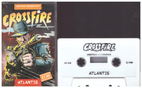 Crossfire for Amstrad CPC from Atlantis (AT 415)