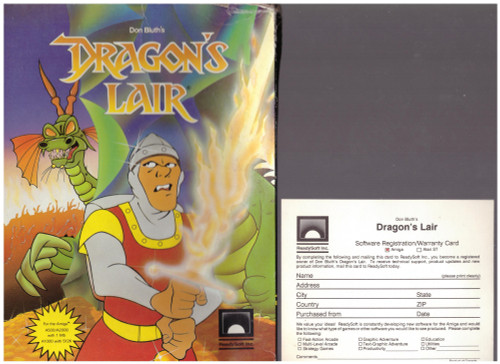 Dragon's Lair for Commodore Amiga from ReadySoft Inc