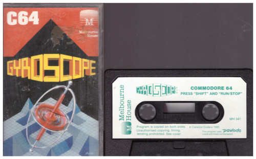 Gyroscope for Commodore 64 from Melbourne House (MH 341)