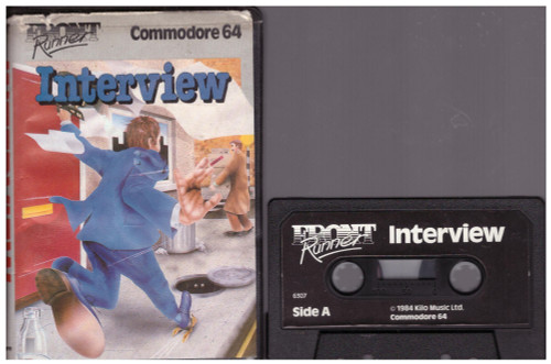 Interview for Commodore 64 from Front Runner (6307)