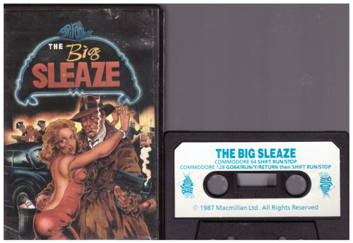 The Big Sleaze for Commodore 64 from Piranha