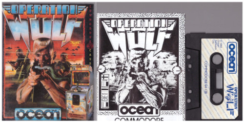 Operation Wolf for Commodore 64 from Ocean