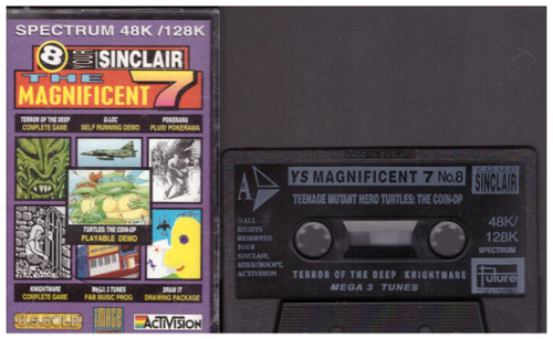 Your Sinclair Issue 71: Magnificent Seven 8 Nov 91 Covertape for ZX Spectrum