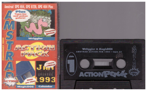 Amstrad Action 23 Feb 93 Covertape for Amstrad CPC
