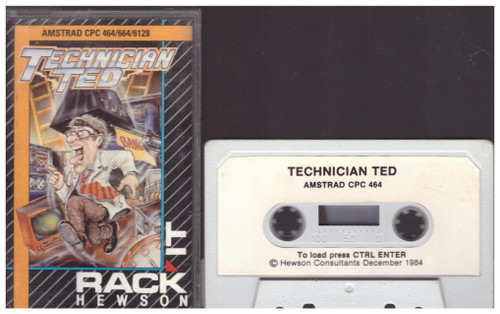 Technician Ted for Amstrad CPC from Rack It/Hewson