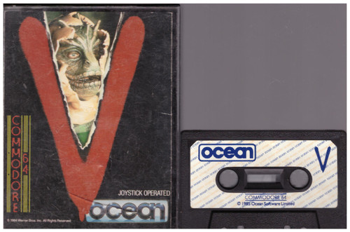 V for Commodore 64 from Ocean