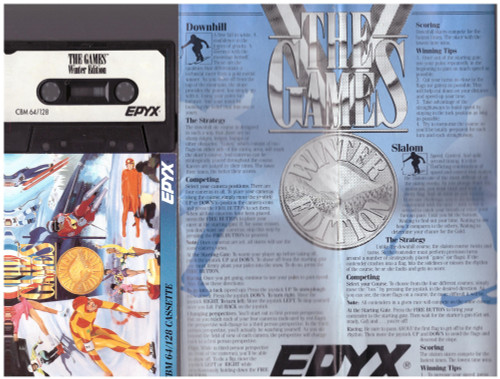 The Games: Winter Edition for Commodore 64 from Epyx/U.S. Gold