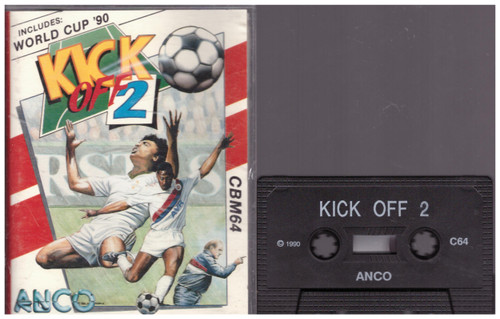 Kick Off 2 for Commodore 64 from Anco