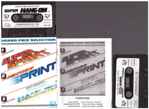 Grand Prix Selection for Commodore 64 from Electric Dreams (UDK 630)