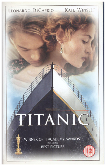 Titanic VHS from 20th Century Fox Home Entertainment (0421S)