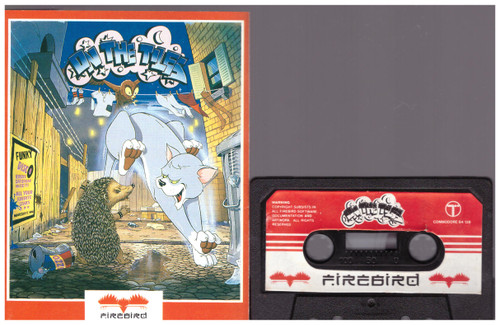 On The Tiles for Commodore 64 from Firebird