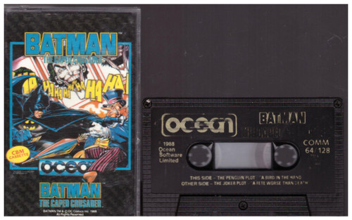 Batman: The Caped Crusader for Commodore 64 from Ocean