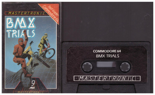 BMX Trials for Commodore 64 from Mastertronic (IC 0079)