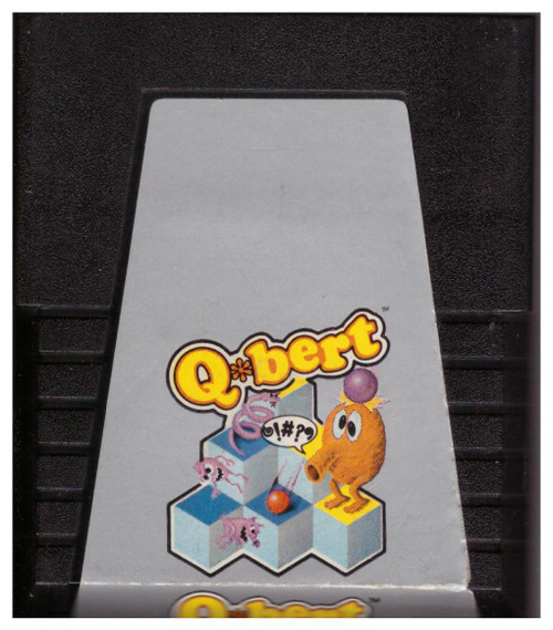 Q*bert for Atari 2600/VCS from Parker Brothers