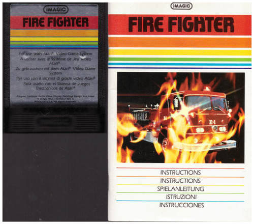 Fire Fighter for Atari 2600/VCS from Imagic