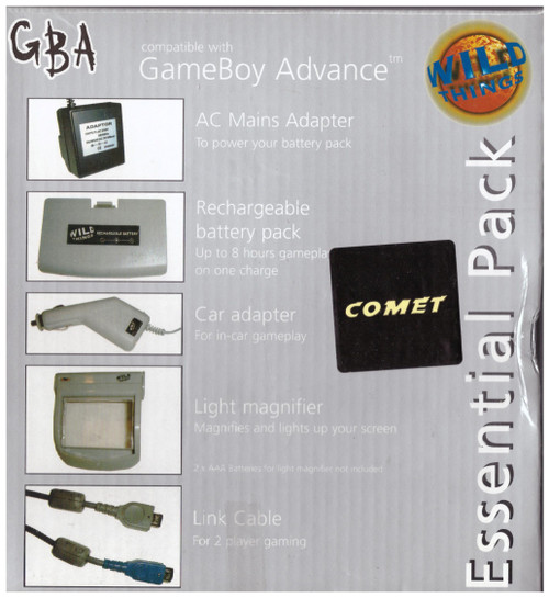 Gameboy Advance Essential Pack from Wild Things