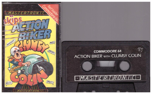 Action Biker for Commodore 64 from Mastertronic (IC 0077)