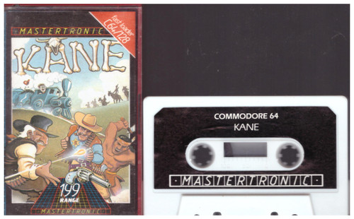 Kane for Commodore 64 from Mastertronic (IC 0096)