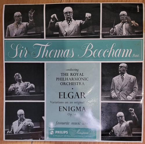 Elgar: Variations On An Original Theme (Enigma) Op. 36 from Philips (SBR 6224)