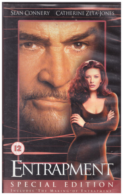 Entrapment Special Edition VHS from 20th Century Fox Home Entertainment (14247S)